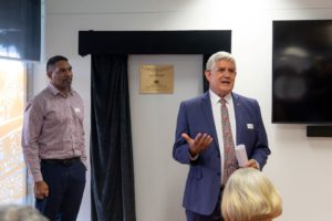 MP Ken Wyatt speeking to group