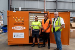 employment success group shot with AMCAP