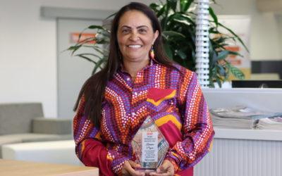 Award winning Wirra Hub client Lorraine